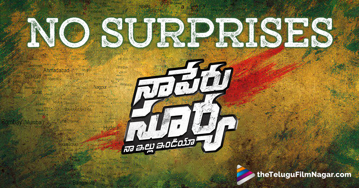 No Surprise From Naa Peru Surya,Telugu Filmnagar,Telugu Movies News,Telugu Film News 2017,Latest Telugu Cinema Updates,Naa Peru Surya Movie Updates,Allu Arjun Naa Peru Surya Telugu Movie Latest News,Stylish Star Allu Arjun Upcoming Films,Hero Allu Arjun Next Movie