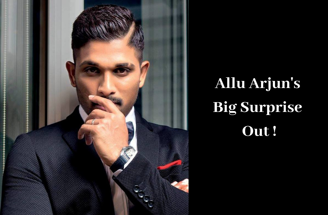Allu Arjun Big Surprise Preponed, Allu Arjun Movies Latest News, Allu Arjun New Movie Announcement, Allu Arjun Upcoming Movies UPdates, alluarjun, latest telugu movies 2018, Stylish Star Allu Arjun Big Surprise Preponed, telugu film updates, Telugu Filmnagar, Tollywood Cinema Latest News