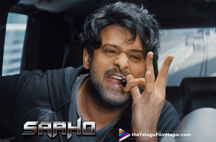 2019 Latest Telugu Film News, Young Rebel Star Prabhas is busy these days, promoting his action thriller, Saaho, Prabhas Toils It Hard For Saaho, Saaho Movie Latest News, action thriller promoting by Prabhas, Young Rebel Star Prabhas, Saaho Movie Release Updates, Telugu Film Updates, Telugu Filmnagar, Tollywood cinema News