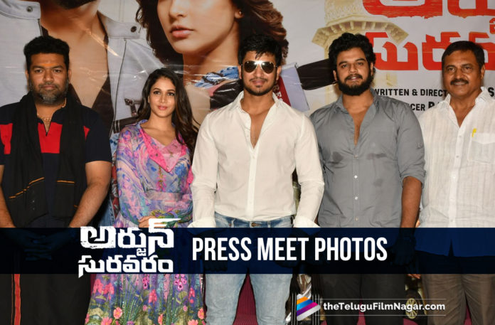 Arjun Suravaram Movie Press Meet Photos