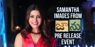 Samantha Images From Jaanu Movie Pre Release Event
