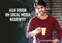 Allu Sirish Says Unnecessary Negativity Kept Him Away From Twitter