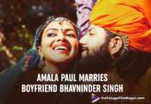 Amala Paul Ties The Knot With Her Boyfriend Bhavninder Singh