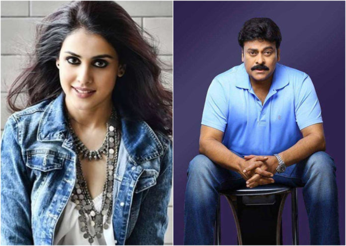 Is Genelia D'Souza Planning To Make A Comeback To Tollywood With THIS Chiranjeevi-Starrer?
