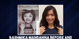 Rashmika Mandanna's Before And After Magazine Cover Picture Proves That She Is Born Star