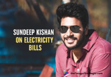 Sundeep Kishan Shares Hilarious Tweet On High Raising Electricity Bills