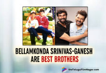 Bellamkonda Srinivas Childhood Pictures With Brother Proves Siblings Bond