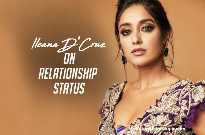 Ileana D'Cruz Gives A Savage Reply To Her Relationship Status Question