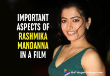 Rashmika Mandanna Reveals Two Important Aspects In A Film
