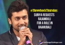 #ThrowbackThursday: Suriya Requests Rajamouli For A Role In Baahubali,Telugu Filmnagar,Latest Telugu Movies News,Telugu Film News 2020,Tollywood Movie Updates,Latest Tollywood News,Suriya,Rajamouli,Baahubali,Suriya Requests Rajamouli For A Role In Baahubali,Throwback Thursday,Rajamouli Approchaed Suriya For A Movie,Suriya About Rajamouli
