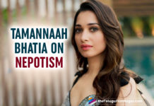 Tamannaah Bhatia Voices Her Opinion About Nepotism