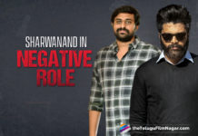 Sharwanand In A Negative Shade For His Next With Ajay Bhupathi