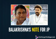 Nandamuri Balakrishna's Heartfelt Note For The Late Jaya Prakash Reddy
