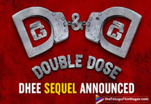 Vishnu Manchu And director Sreenu Vaitla's Dhee Sequel Announced; Titled D And D