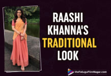 Raashi Khanna Is An Elite Beauty In THIS Latest Traditional Look