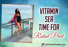 Rakul Preet Singh Enjoys Some 'Vitamin Sea' Time In Maldives - See Pics
