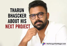 Tharun Bhascker's Third Film To Be A Crime Drama; Official Announcement Soon