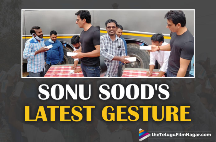 Acharya,Sonu Sood Surprises Acharya Crew By Gifting 100 Smartphones,Telugu Filmnagar,Latest Telugu Movies News,Telugu Film News 2021,Tollywood Movie Updates,Latest Tollywood News,Sonu Sood,Sonu Sood Latest News,Actor Sonu Sood Surprises Acharya Crew,Sonu Sood Gifts Smartphones To Acharya Crew,Sonu Sood shows his generosity by gifting 100 smartphones to Acharya crew,Sonu Sood donates 100 smartphones to Acharya crew in Hyderabad,Sonu Sood Gifts 100 Smartphones To Megastar's Acharya Crew