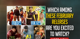 Movie Releases In February 2021 : Which Among These Are You Excited To Watch: Vote Now,Telugu Filmnagar,Latest Telugu Movies News,Telugu Film News 2021,Tollywood Movie Updates,Latest Tollywood News,Movie Releases In February 2021,Movie Releases In February,Movie Releases,Telugu Movie Releases,Tollywood Movie Releases,Tollywood Movie Releases In Feb,Which Among These February Releases Are You Excited To Watch,POLL,TFN POLL,Akshara,Uppena,Check,A1 Express,Zombie Reddy,Movies In February,Latest Movie Releases,Tollywood Movies In February