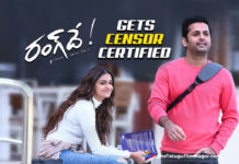 Nithiin's Rang De Gets Censor Certified,Telugu Filmnagar,Latest Telugu Movies News,Telugu Film News 2021,Tollywood Movie Updates,Latest Tollywood News,Rang De,Rang De Movie,Rang De Telugu Movie,Rang De Update,Rang De Movie Latest News,Rang De Movie Latest Update,Rang De Movie News,Nithiin,Actor Nithiin,Hero Nithiin,Nithiin Rang De,Rang De Nithiin,Keerthy Suresh,Actress Keerthy Suresh,Heoine Keerthy Suresh,Rang De Gets Censor Certified,Rang De Songs,Bus Stande Bus Stande Song,Naa Kanulu Yepudu Song,Chusi Nerchukoku Song,Rang De Censor,Rang De Censor Certification,Rang De Censor News,Rang De Is Certified With U/A,Rang De On 26th March,Rang De Censor Certificate,Rang De Censor Report,Rang De Movie Latest Censor Report,Nithiin And Keerthy Suresh Film Rang De Gets U/A Certificate,Rang De Gets U/A Certificate