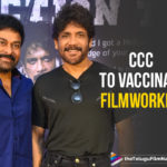 Chiranjeevi and Nagarjuna Plan Vaccination For Film Workers,Telugu Filmnagar,Latest Telugu Movies News,Telugu Film News 2021,Tollywood Movie Updates,Latest Tollywood News,Corona Crisis Charity,CCC,Chiranjeevi And Nagarjuna,Mega Star Chiranjeevi,Chiranjeevi,Hero Chiranjeevi,Actor Chiranjeevi,Nagarjuna Akkineni,King Nagarjuna,Actor Nagarjuna,Hero Nagarjuna,Nagarjuna Plan Vaccination For Film Workers,Chiranjeevi Plan Vaccination For Film Workers,CCC To Vaccinate Film Workers,CCC Will Look After Vaccination For Cine Workers,Megastar Chiranjeevi Announces Free Covid Vaccine For Film Workers,Chiranjeevi Led CCC To Facilitate Free Covid Vaccine To Cine Workers,Vaccination For Film Workers,Free Covid Vaccines To Tollywood Film Workers,Chiranjeevi And Nagarjuna Plans Vaccination For Cine Workers,Tollywood Film Workers,Chiranjeevi Leads Tollywood,Covid 19,Chiranjeevi and Nagarjuna Interview,Megastar Chiranjeevi Announces Free Covid Vaccine For Cine Workers